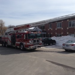 Small fire forces evacuation of Alfred facility