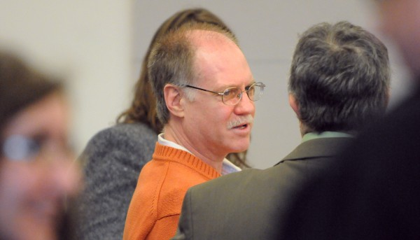 David Coon of Bangor was sentenced to 18 years all but 10 years suspended Tuesday at the Penobscot Judicial Center. Coon pleaded guilty earlier this year to manslaughter in the death of his girlfriend Sherry Clifford, 49, last year.