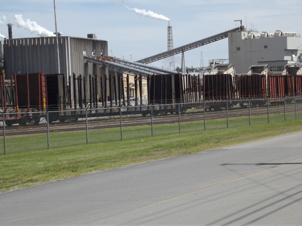 Woodland Pulp mill is located in Baileyville along the St. Croix River.