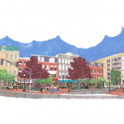 Opinions of Bangor merchants vary about the impact of the West Market Square construction project on their bottom line
