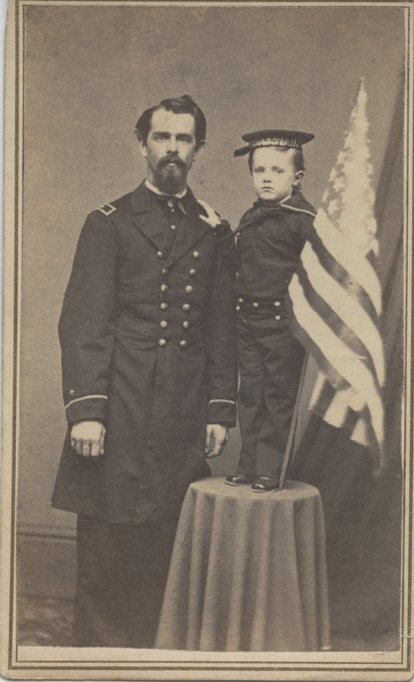 This is a digital copy of one of the 75 cartes de visite stolen from Bangor Public Library. The Civil War, World War I and World War II memorabilia was recovered by police.