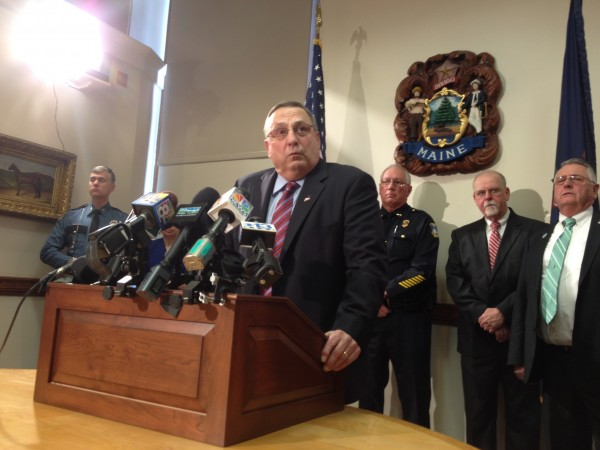 Gov. Paul LePage discusses his plans for fighting drug abuse in Maine.