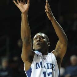 Zarko Valjarevic provides University of Maine men with potent 3-point shooting threat