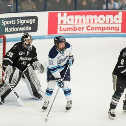 Maine-Providence hockey series this weekend has distinct Maine flavor