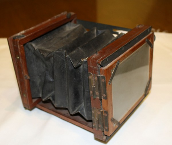 Scarborough resident Neal Paulsen donated this Mawson & Swan hand-held camera from the 1880s, originally owned by artist Winslow Homer, to the Bowdoin College Museum of Art.