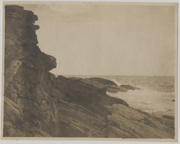 Cliffs at Prouts, 1883-1910, photograph.