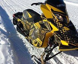 26-year-old Aroostook County inventor looks to take The Phantom snowmobile nationwide
