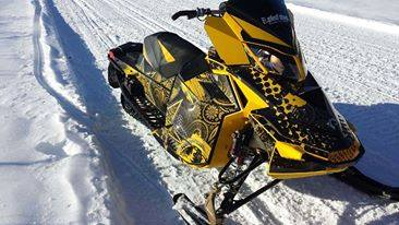 A 2012 MXZ 800 XRS Turbo snowmobile was stolen from The Sled Shop in Presque Isle on Friday.