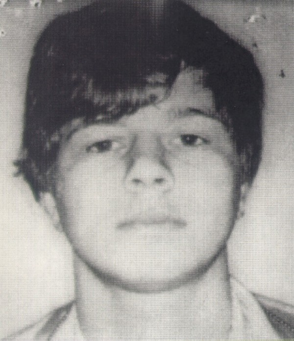 Gary Alan Irving is seen in a 1978 booking photo from the Massachusetts State Police.