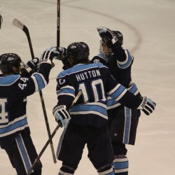 Providence ousts Maine from Hockey East playoffs with sweep in quarterfinal series