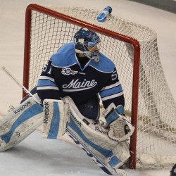 Friars score two in the third, hand Maine hockey team third straight loss