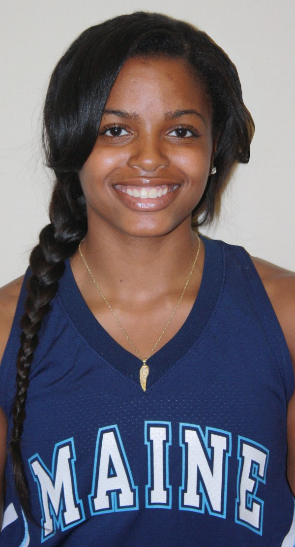 Maine's Ashleigh Roberts scored 20 points in the Black Bears' 63-62 overtime loss to Hartford in an America East quarterfinal Friday night in Albany, N.Y.