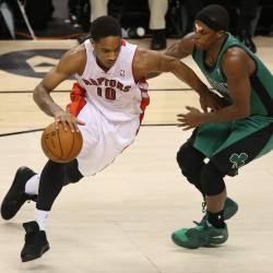 DeRozan helps Raptors hold off Celtics 84-79