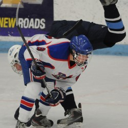 Andrew Michaud leads Presque Isle to berth in East Class B hockey final