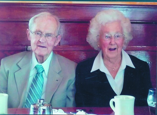 Bud and Jean Lyford will celebrate their 70th anniversary on March 18, 2014.