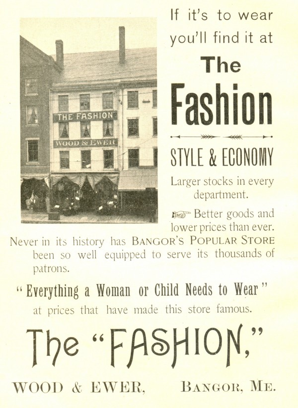 The Fashion in 1899