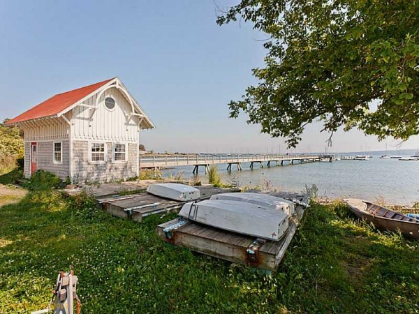 Atlantic Challenge Foundation is putting its Rockland waterfront property up for sale, but plans to remain in the city.
