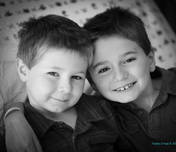 Colby Scott, right, of Bridgewater was 8 years old when he was diagnosed with aplastic anemia, a condition in which the bone marrow does not make enough new blood cells. He received a bone marrow donation from his younger brother, Carson, left, which saved his life.