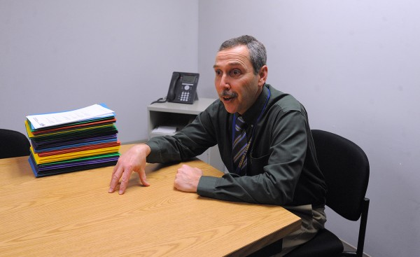 Gary Gonyar, principal of William S. Cohen School in Bangor.
