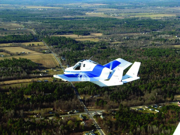 """The Transition, described as """"an airplane that can be driven down the road and parked in your garage,&quot will soon be tested at the Pease airport in Portsmouth."""