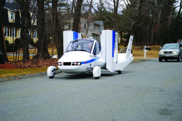 """he Transition, described as """"an airplane that can be driven down the road and parked in your garage,&quot will soon be tested at the Pease airport in Portsmouth."""