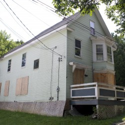 Authorities remove squatters from abandoned house in Bangor
