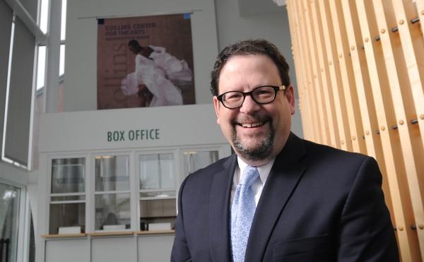 Danny Williams, new Collins Center for the Arts interim director.