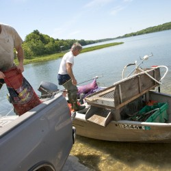Hampden firm pokes holes in traditional boat mooring, leaving room for lobsters, crabs and other sea life