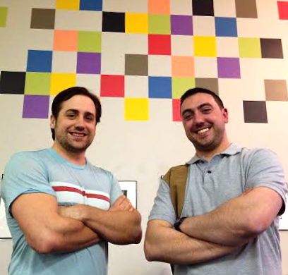 Patrick Kenney and Nicholas Pontacoloni of Owner Aide launched their real estate web company in Portland's Think Tank.