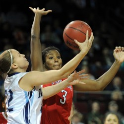 Wheeler back on shelf, Burns on court for UMaine women's basketball team