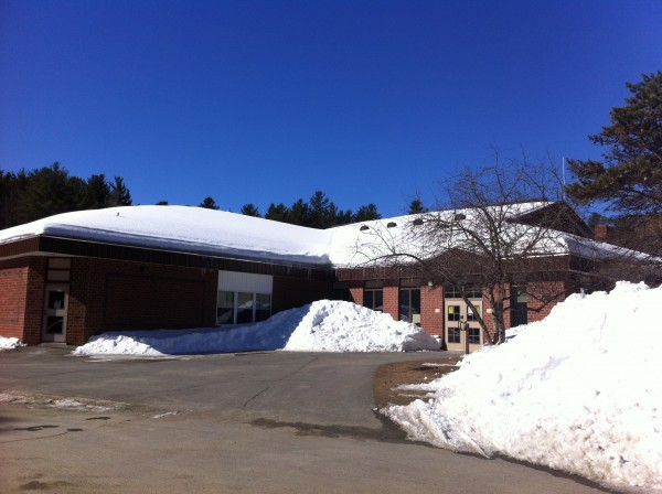 The Brownville Elementary School.