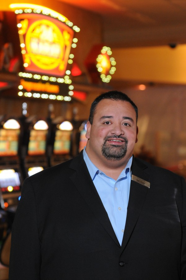Hollywood Casino's new general manager is Jose Flores.