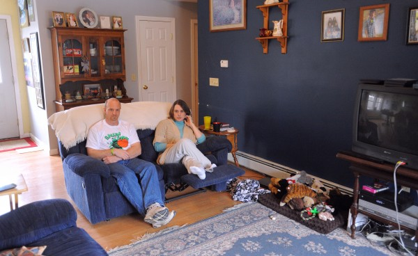Scott and Holly Lounder of Ellsworth have been battling Lyme disease. They were diagnosed after having had various symptoms for several years.