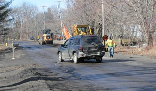 Rockland is considering whether to borrow money to repair a stretch of Old County Road.
