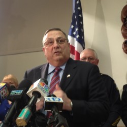 LePage pours fuel on a partisan fire