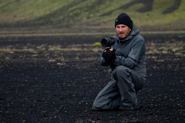 Director Darren Aronofsky on the set of &quotNoah.&quot