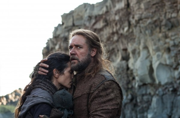 Jennifer Connelly (left) is Naameh, and Russell Crowe is Noah in &quotNoah.&quot