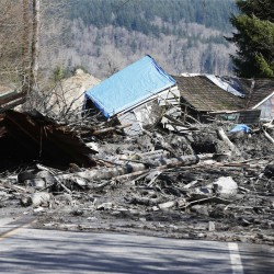 Search underway for three men missing after Colorado mudslide