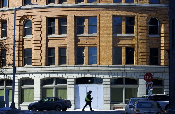 The long-vacant &quotcurved building&quot at 25-27 Broad Street may finally have a developer who plans to renovate the building into retail space and apartments.
