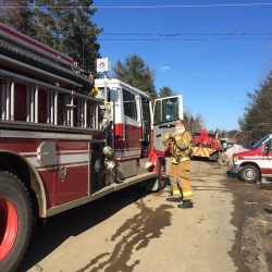 Crews quickly douse electrical fire in Bangor