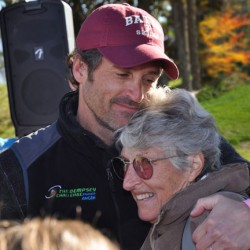 Patrick Dempsey's mother remembered for her strength at Auburn memorial