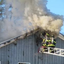 Fire guts wood products plant in Norway