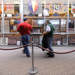 Bangor Troop Greeters, airport eye future for extensive collection of military mementos