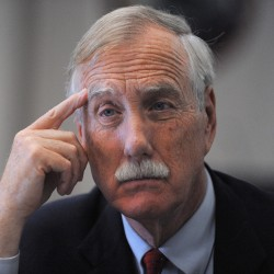 Angus King chronicles RV travels in new book