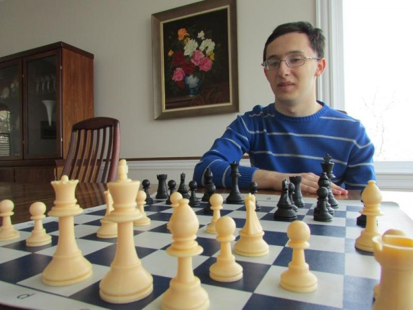 Matthew Fishbein, 16, of Cape Elizabeth was awarded the title of national master last month by the U.S. Chess Federation. He is the top-ranked player in Maine.