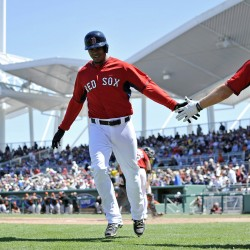 Pedroia homers, Lester sharp for Red Sox