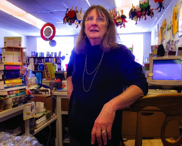 Cathy Anderson owns The Briar Patch on Central Street in Bangor.