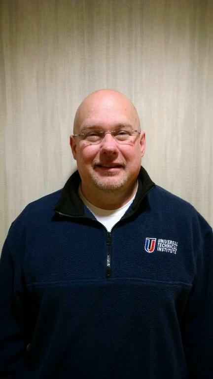 Ed Coull, admissions representative for UTI-Norwood, works as Chairperson of the Diesel Equipment Technology competition at SkillsUSA Maine, volunteering alongside Maine employers to support technical education for students.