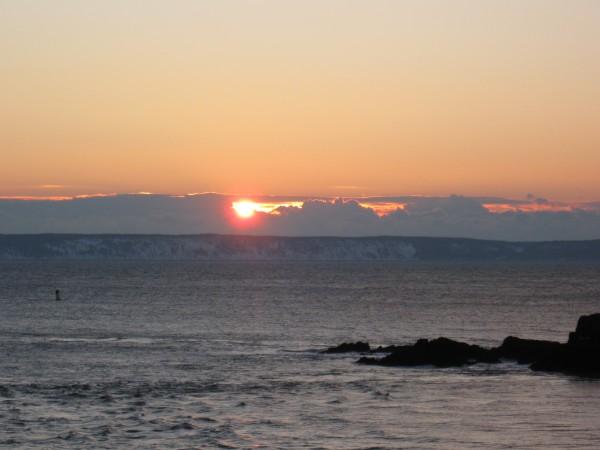 Sunrise New Year's Day
