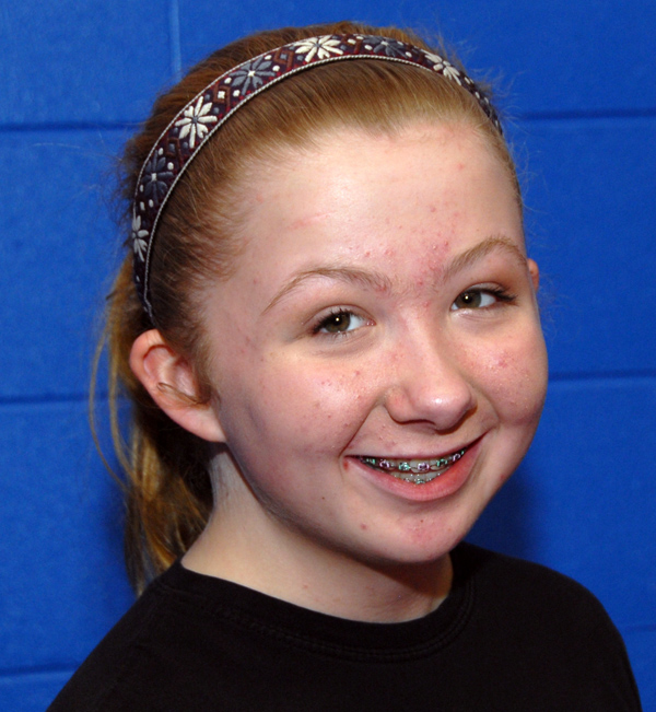 Jayda Bailey of Levant trains in mixed martial arts at Young's MMA in Bangor. Now 14 and an eighth grader at All Saints Catholic School in Bangor, Bailey started training in mixed martial arts at age 12.